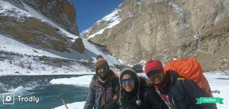 Chadar Frozen River Trek - All Inclusive