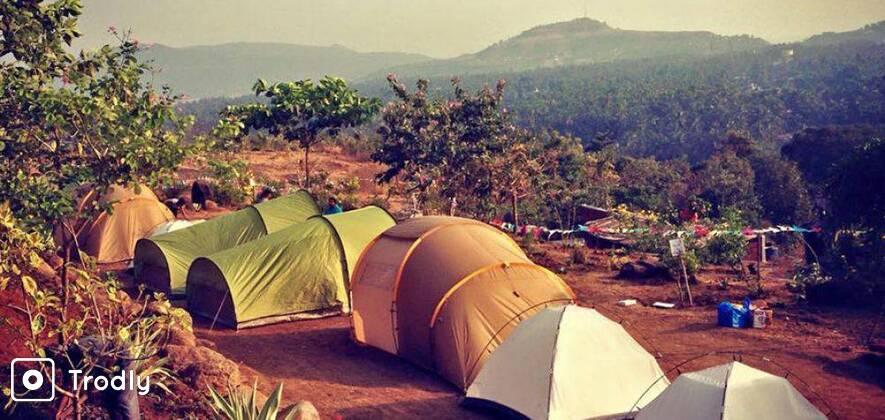 Camping & Fishing near Murud Janjira