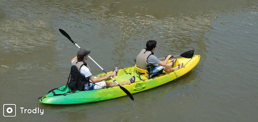 Weekend Kayaking Trip at Secret Soiree Beach