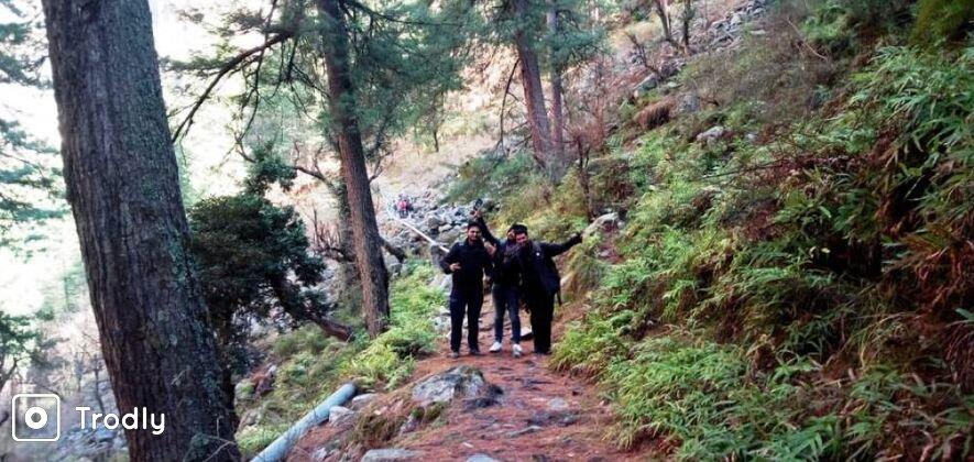 Kais Dhar and Bijli Mahadev Trek