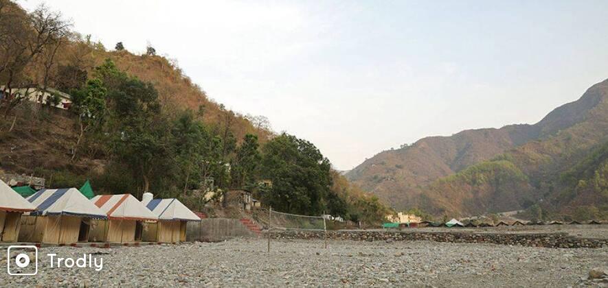 New Year's Eve 2017: Riverside Camping At Rishikesh