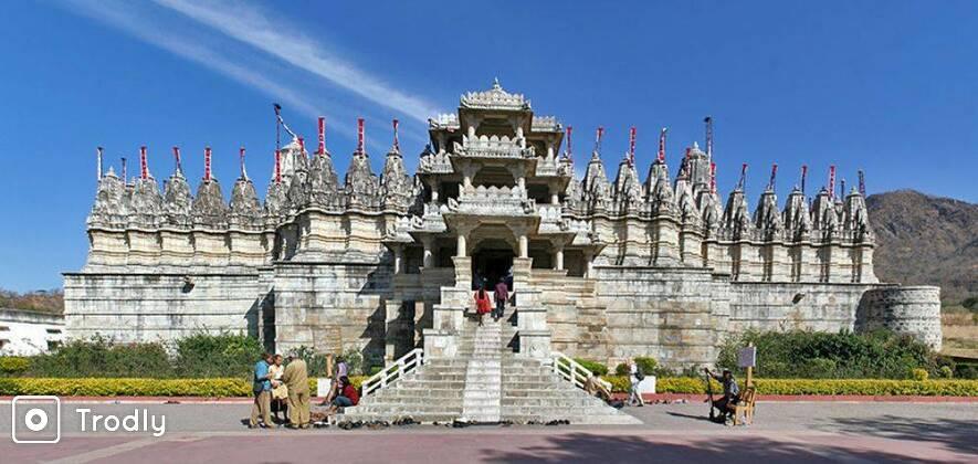 Udaipur to Jodhpur via Ranakpur Jain Temple and Kumbhalgarh Fort