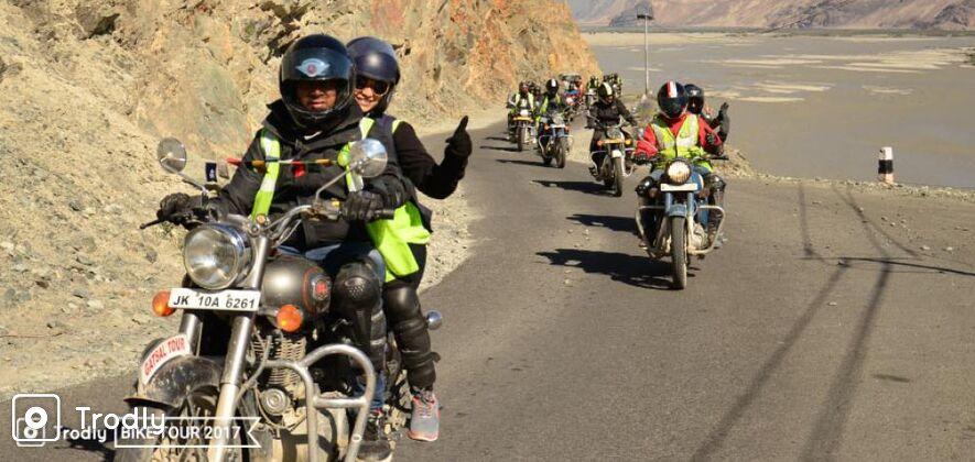Ladakh Motor Bike Tour 2018 ex. Leh