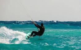 Kitesurfing for Beginners at Ashwem Beach, Goa