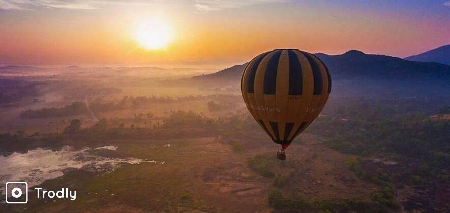 #FebAdventure: Hot Air Balloon Flight in Goa
