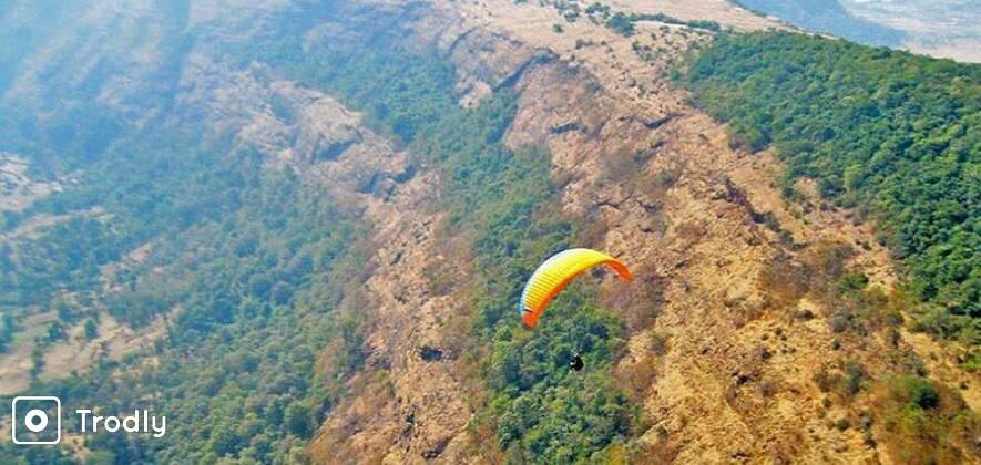 Experience Paragliding At Kamshet