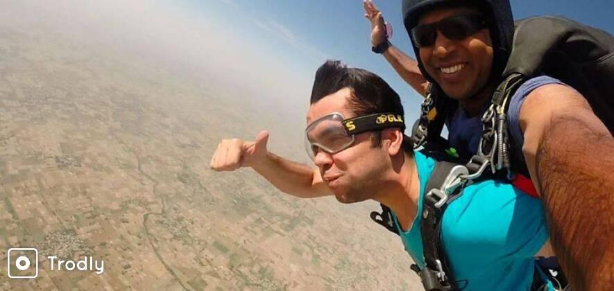 Skydive near Delhi