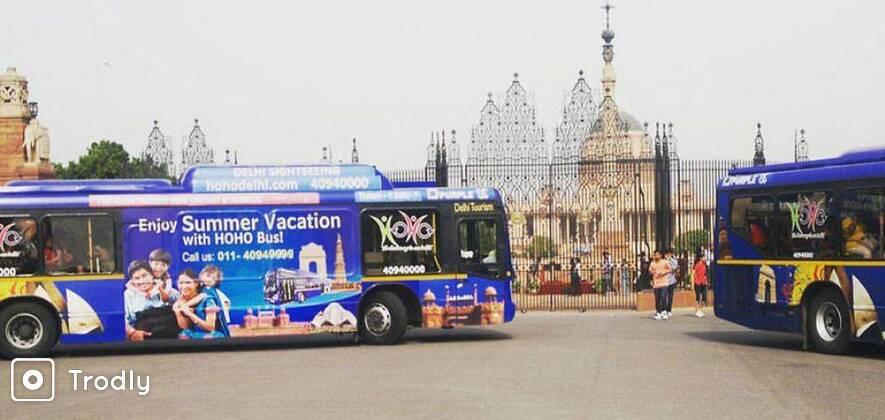 Delhi Hop-On Hop-Off Bus Tour