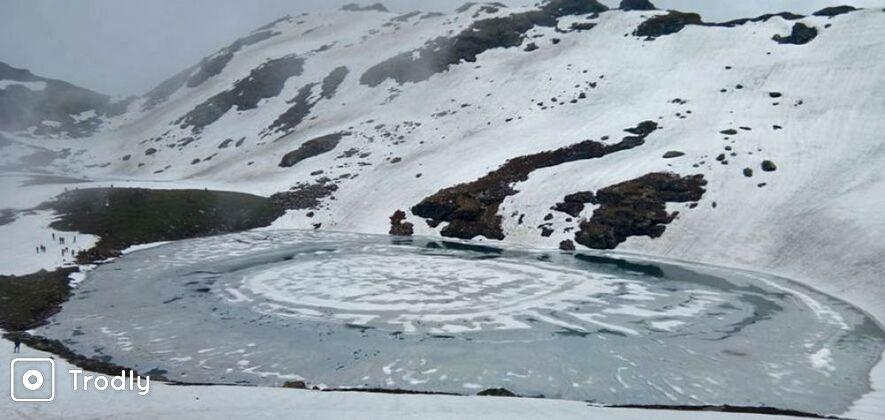 Bhrigu Lake Trek From Manali