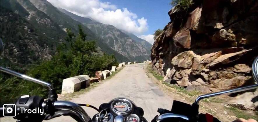 Remote Himachal Spiti Valley Motorbike Tour