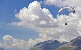 Paragliding at Bir Billing From Mcleodganj