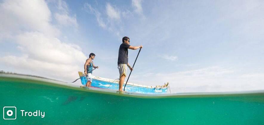 Paddle Boarding in Rameswaram